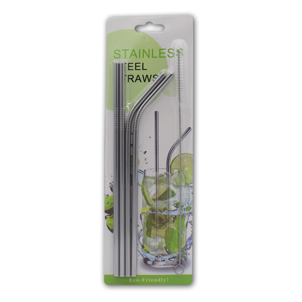 WF6A70 Stainless Steel Straws