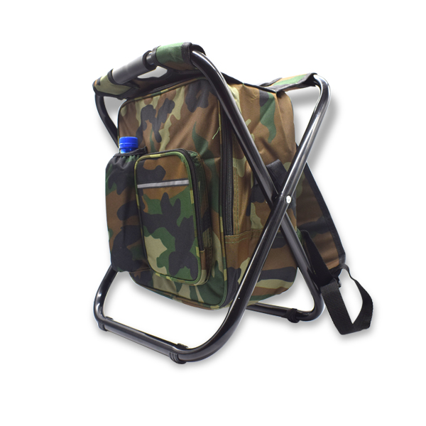 WF9079 Camo Chair and Cooler Backpack